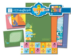 Hindu Gods Stationary Set
